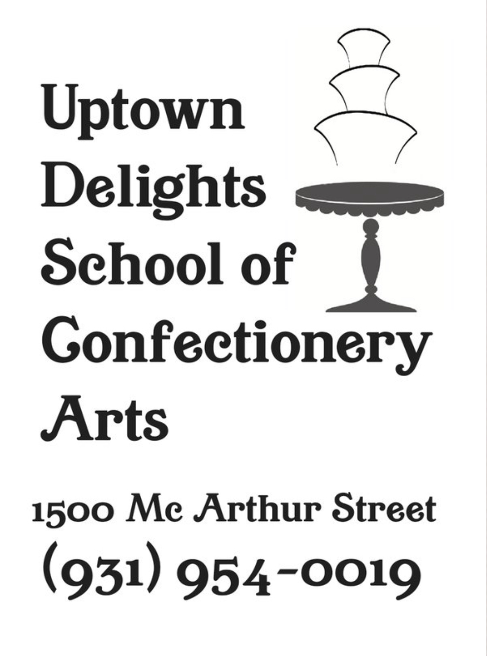 Uptown Delights School of Confectionery Arts, LLC